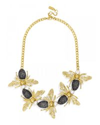 BaubleBar - Metallic Queenbee Collar - Lyst