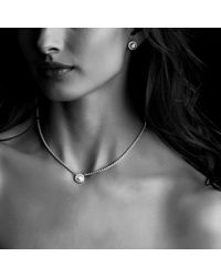 David Yurman - Metallic Cable Classics Earrings With Gold - Lyst
