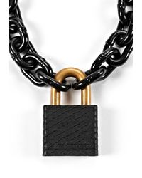 Alexander Wang - Bike Lock with Blackened Steel Chain - Lyst