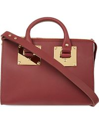 Sophie Hulme - Purple Cross-body Bowling Bag - For Women - Lyst