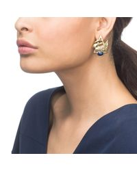 Lulu Frost | Metallic Lake Earring | Lyst