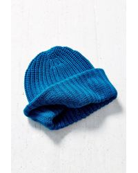 Urban Outfitters | Blue Stand Up Beanie | Lyst
