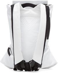 Y-3 - Black & White Fs Backpack for Men - Lyst