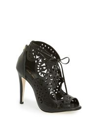 Klub Nico | Black Mariella Butterfly Leather Sandals | Lyst