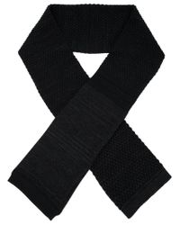 S.N.S Herning | Black 'torso' Scarf for Men | Lyst