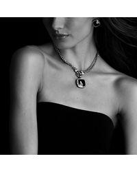 David Yurman | Yellow Albion Pendant With Diamonds, 20mm Gemstone | Lyst