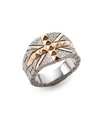 Stephen Webster - Metallic Studded Union Jack Ring for Men - Lyst
