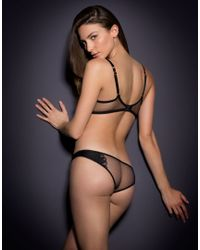Agent Provocateur - Ellin Brief Black - Lyst