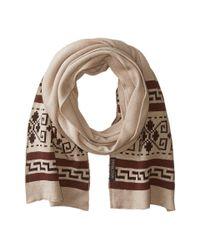 Pendleton | Natural Knit Muffler | Lyst