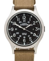 Timex - Black Expedition Scout Metal for Men - Lyst