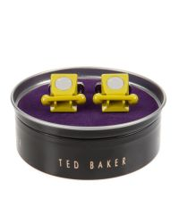 Ted Baker - Green Telephone Cufflinks for Men - Lyst