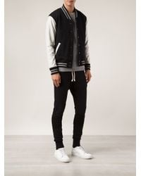 John Elliott - White Stadium Quilted Jacket for Men - Lyst