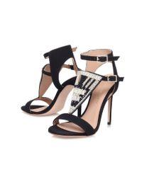 Kurt Geiger - Metallic Kiya High Heel Sandals - Lyst