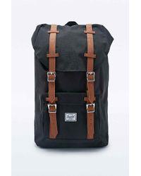 Herschel Supply Co. - Brown Little America Backpack In Black for Men - Lyst