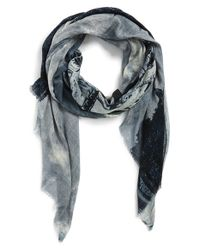 Lily and Lionel - Blue 'Paris' Scarf - Lyst