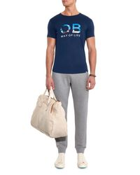 Orlebar Brown - Gray Beagi Cotton Track Pants for Men - Lyst