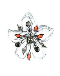 Alexis Bittar - Multicolor Cubist Flower Pin - Lyst