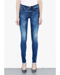 M.i.h Jeans - Blue Bodycon 5 Pocket Jean - Lyst