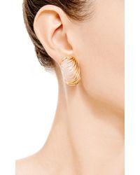 Simon Teakle | Metallic Vintage Van Cleef & Arpels 18K Gold And Rose Quartz Earrings | Lyst