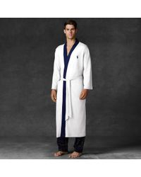 Polo Ralph Lauren - White Kimono Robe for Men - Lyst