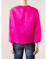 Isabel Marant - Pink Wide Sleeve Sweater - Lyst