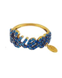 Queensbee | Blue Queen Ring | Lyst