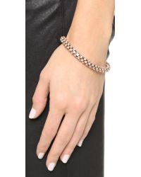 Michael Kors - Metallic Park Avenue Rounded Bracelet - Lyst