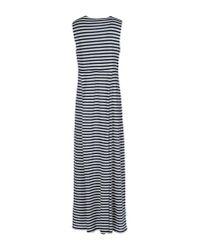 Jucca - Blue Long Dress - Lyst