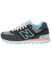 New Balance | Black Wl574 - Woven Collection | Lyst