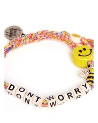 Venessa Arizaga | Multicolor 'don't Worry Bee Happy' Bracelet | Lyst