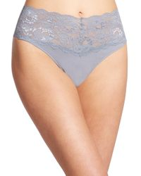 Cosabella | Gray Never Say Never Thong | Lyst