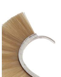 Bjorg - Natural Silver Earring Cuff - Lyst