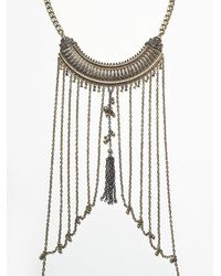 Free People | Metallic Womens Boheme Body Chain | Lyst