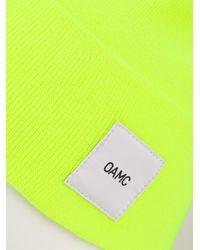 OAMC - Orange Logo Patch Beanie for Men - Lyst