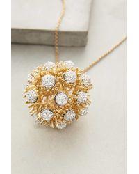 Lele Sadoughi | Metallic Dandelion Pendant Necklace | Lyst