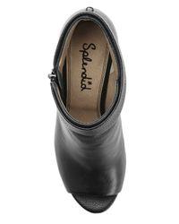 Splendid - Black Jojo Peep Toe Heel - Lyst