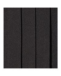 Saint Laurent - Black Pleated Crepe Dress - Lyst