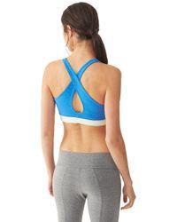 Alternative Apparel | Blue Keep It Simple Eco-lycra Jersey Bra Top | Lyst