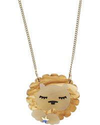 Tatty Devine | Metallic Leo Birthday Necklace | Lyst
