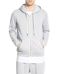 Sol Angeles - Gray Essential Hoodie for Men - Lyst