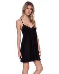 Addison - Black Tony T-strap Swing Dress - Lyst