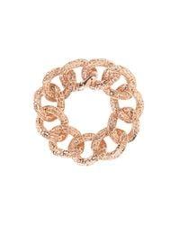 "Roberto Coin - Pink Skyline Link Bracelet 7"" - Lyst"