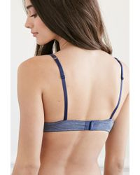Forever 21 - Blue Space Dye Push-up Bra - Lyst
