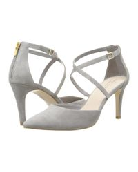 Cole Haan | Gray Juliana Ankle Strap Pump 75 | Lyst