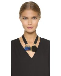 Marni - Black Resin Necklace - Ocean - Lyst