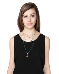 Sessun - Blue Necklace / Longcollar - Lyst