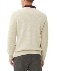 Jaeger - Natural Sport-loden Crew Neck Sweater for Men - Lyst