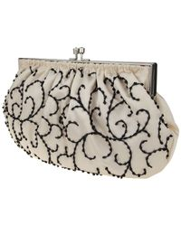 Nina - Natural Hamill Beaded Pouch - Lyst