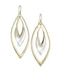 Alexis Bittar | Metallic Lucite Orbit Drop Earrings/silver | Lyst