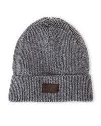 Original Penguin - Black Knit Cuff Hat for Men - Lyst